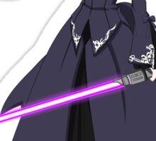 fate zero stay night dark saber star wars lightsaber paraody anime manga shirt Sticker
