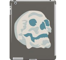 White and Blue Skull iPad Case/Skin