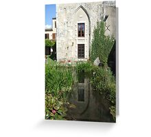 Le Moulin d'Annepont Greeting Card