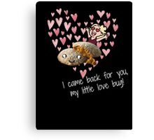 little love bug Canvas Print