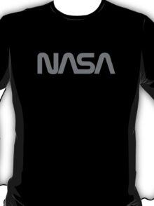 NASA Text [gray] T-Shirt
