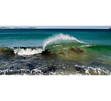 Wave on  the Prom Photographic Print