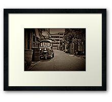 Tuk tuk Framed Print
