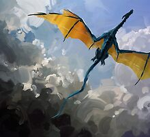 Dragon Sky by Michael Jaecks
