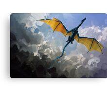 Dragon Sky Canvas Print