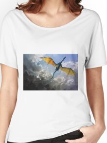 Dragon Sky Women's Relaxed Fit T-Shirt