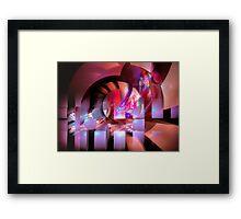 The arcade Framed Print