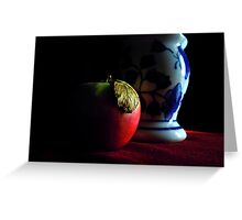 pomme still life Greeting Card