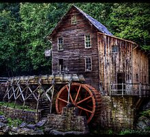Glade Creek Grist Mill by Christine Annas