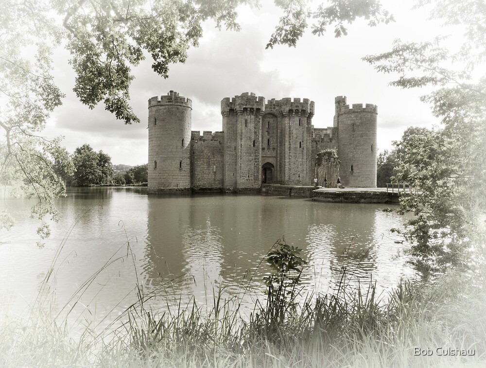 Bodiam Castle, East Sussex, England by Bob Culshaw