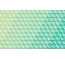 Color Cube Pattern Photographic Print