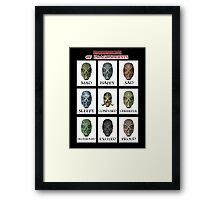 Expressions of DragonPriests Framed Print