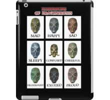 Expressions of DragonPriests iPad Case/Skin