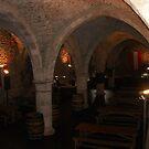 Dungeon cellar wine bar  by Ellanita