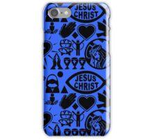CHRISTIANITY (BLUE) iPhone Case/Skin