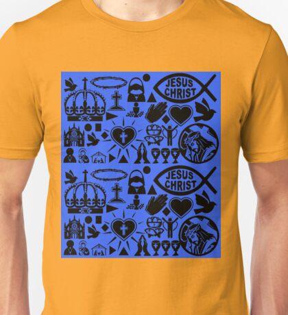 CHRISTIANITY (BLUE) Unisex T-Shirt