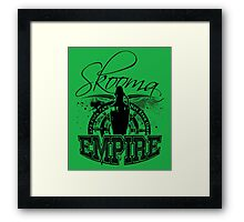 Skooma Empire - Not even once! Framed Print