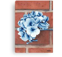 Prussian Flowers Canvas Print