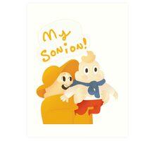 (son)ion Art Print