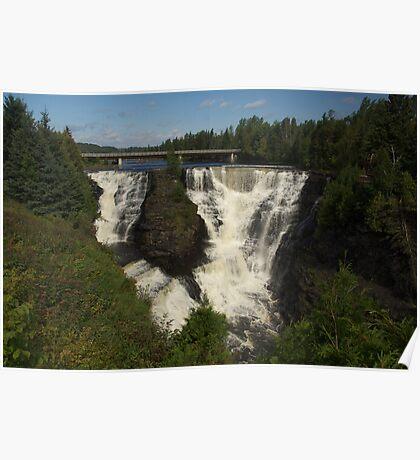 Kakabeka Falls Northern Ontario Poster
