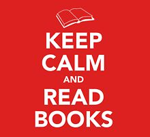 Keep Calm & Read Books Unisex T-Shirt