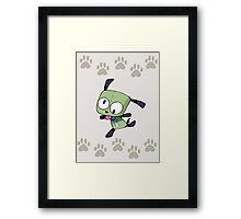 normal earth dog Framed Print