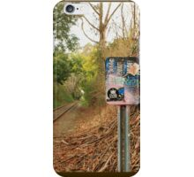 Nobody Reads Signs Anymore iPhone Case/Skin