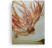 The Fall of Icarus Canvas Print