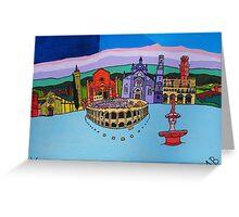 verona: home of opera, italy Greeting Card