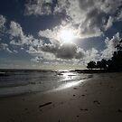 As serenity settles in, the waves start to whisper lullabies by Richard Olsen