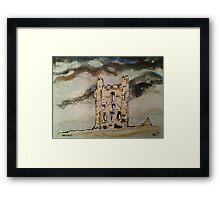 'Helmsley Castle, East Tower' Framed Print