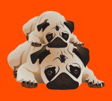 Cute Pugs Kids Tee