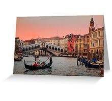 Il Bello Canal Grande Greeting Card