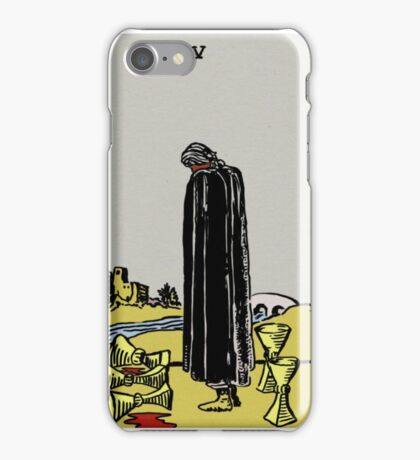 Five Of Cups  iPhone Case/Skin