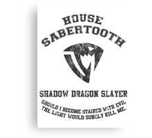 shadow dragon slayer  Canvas Print