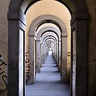 Underneath the Vasari Corridor by SpencerCopping