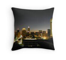 Cleveland Lights Throw Pillow