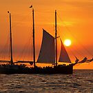 Sail into the sunset II... by smilyjay