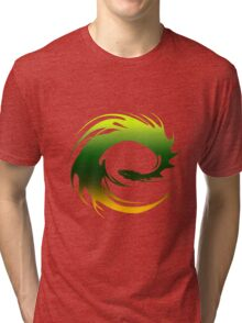 Green Dragon - Eragon Tri-blend T-Shirt