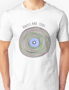 Vinyls are Cool (Pastel) Unisex T-Shirt