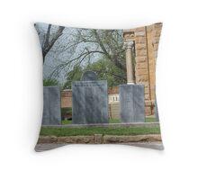 Llano Texas Courthouse Throw Pillow
