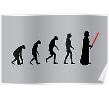 Evolution of the dark side Poster
