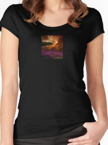 3957 Women's Fitted Scoop T-Shirt