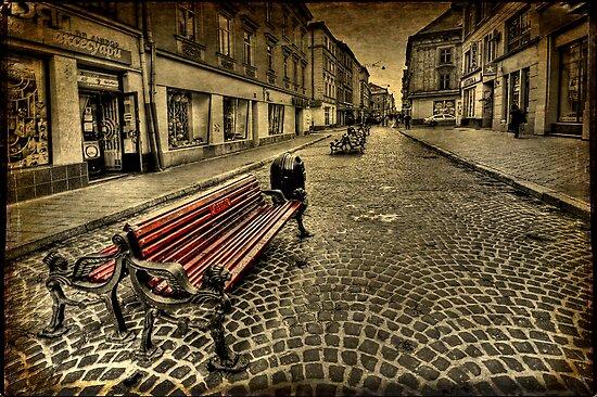 Street Seat by Evelina Kremsdorf