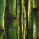Bamboo jungle by Annabelle Evelyn