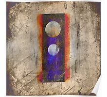 two moons at noon Poster