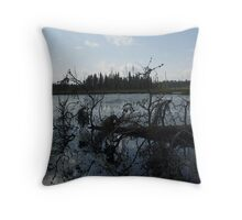 peace and quiet Northern Ontario Throw Pillow