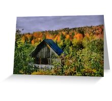 Old building in the woods Greeting Card