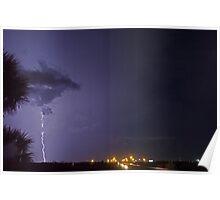Interstate lightning Poster