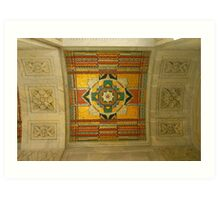 Supreme Court Entrance Ceiling Art Print